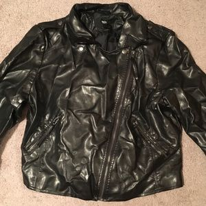 Mossimo Faux Leather Jacket